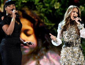 Jennifer Hudson, Celine Dion, Usher Whitney Houston Tribute