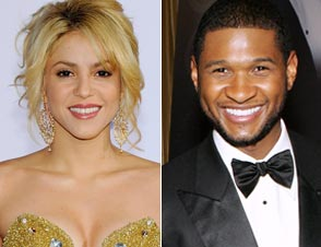 Shakira Usher The Voice
