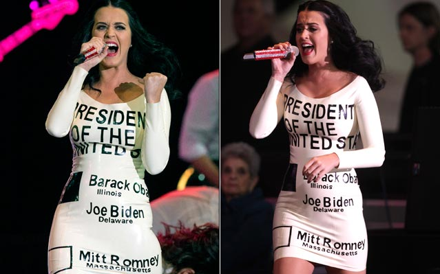 katy perry president obama ballot