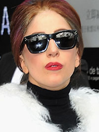 lady Gaga hurricane sandy support