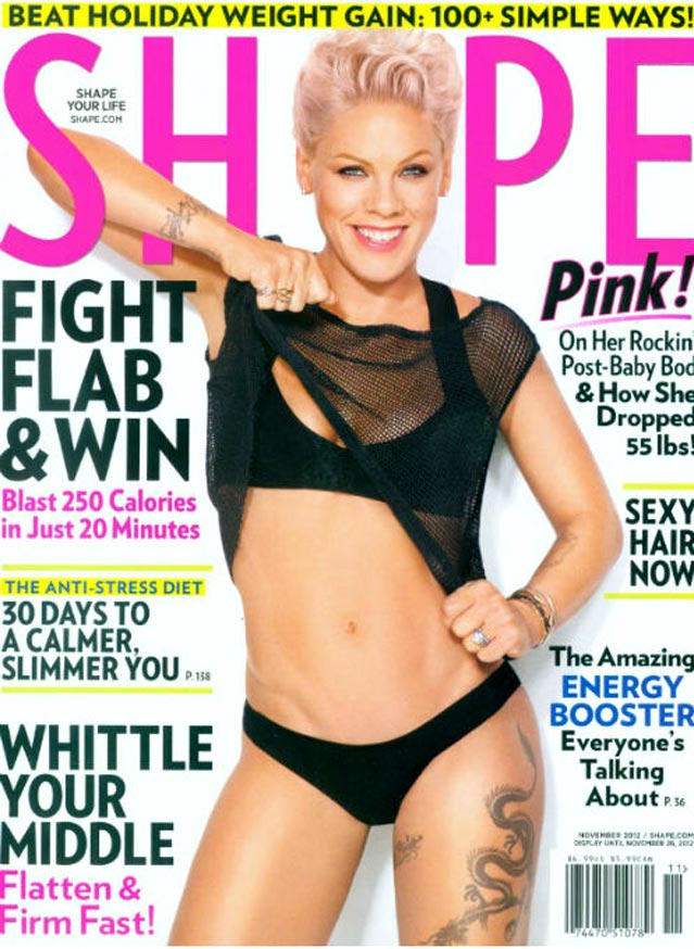 Pink, Body Makeover: New Mom Reveals 55-Pound Weight Loss (PHOTO)