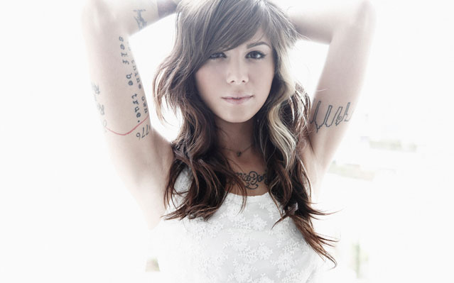 christina perri something about december video