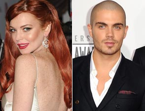 Lindsay Lohan Max George argue claims in NYC bar fight
