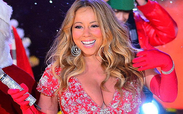 Mariah Carey Rockefeller Christmas tree lighting outfit