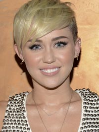 miley cyrus gets pig from PETA