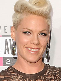 Pink, training for tour after pregnancy has been hard