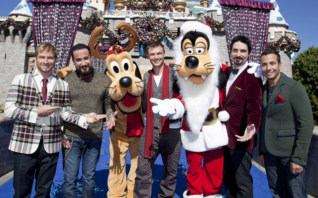 Backstreet Boys Disney Christmas