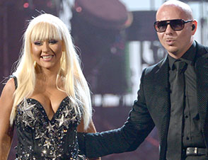 Christina Aguilera Pitbull Weight Gain