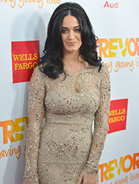 Katy perry honored trevor project, supports gay youth