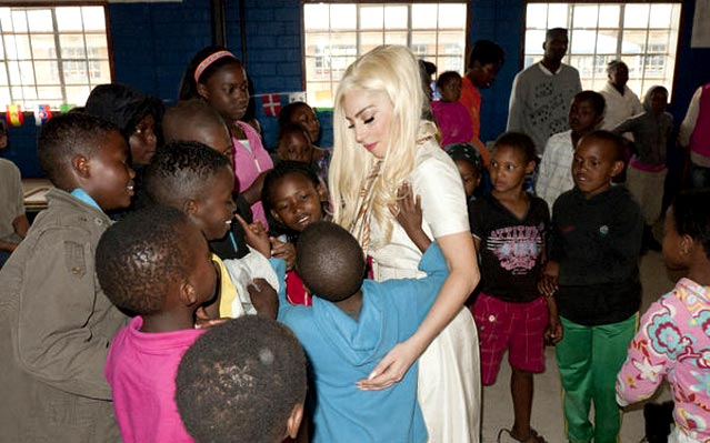 Lady Gaga united nations