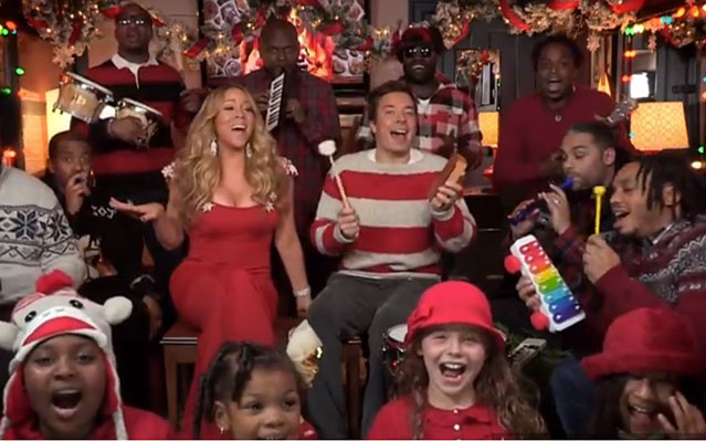 Mariah Carey, the Roots on Jimmy Fallon