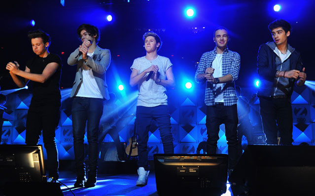 jingle ball one direction the wanted