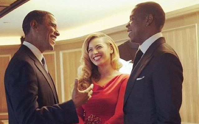 Beyonce National Anthem Inaguruation President Obama