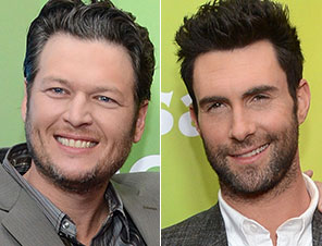 Adam Levine Blake Shelton Bromance The Voice