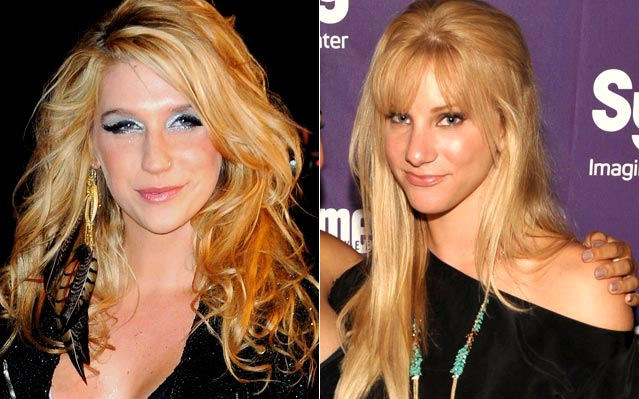Kesha Heather Morris