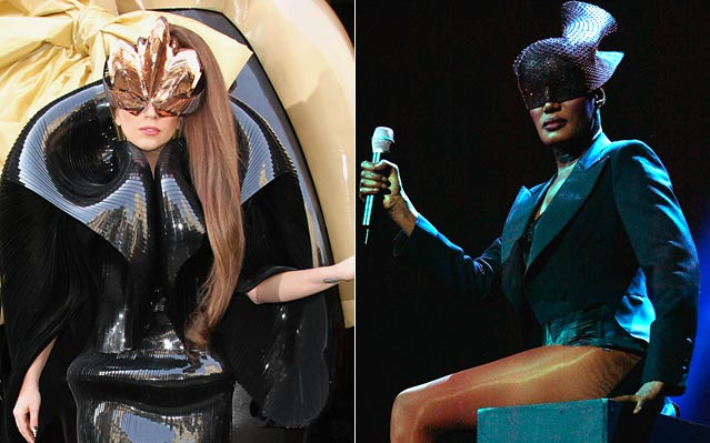 Lady Gaga grace jones