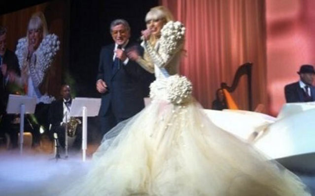 Lady Gaga, Second Inaugural Ball: President and Stars Kick Off Second