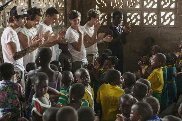 One Direction Ghana