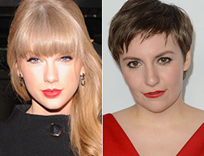 Taylor Swift, Lena Dunham fans and friends
