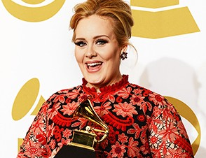 Adele On Being a Working Mother at 2013 Grammys