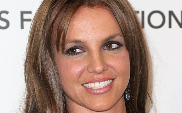 britney spears new brown hair