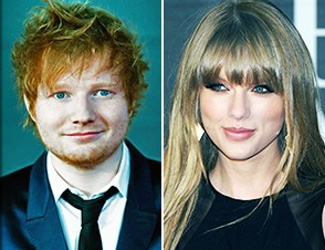 Ed Sheeran, Taylor Swift and Elton John Hung Out On Grammy Night