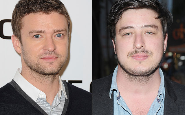 justin timberlake marcus mumford coen brothers