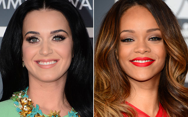 katy perry rihanna grammy
