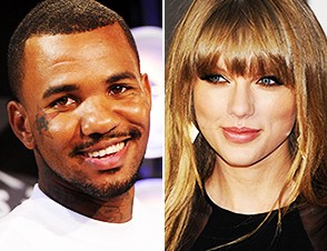 Taylor Swift Meets rapper The Game