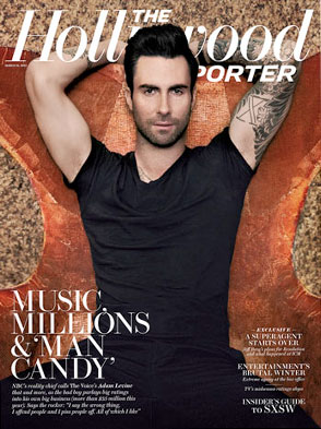 adam levine hollywood reporter the voice