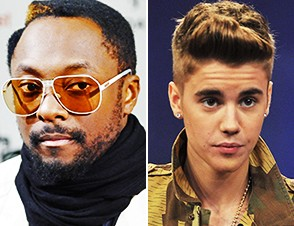 Black Eyed Peas will.i.am justin bieber that power new song