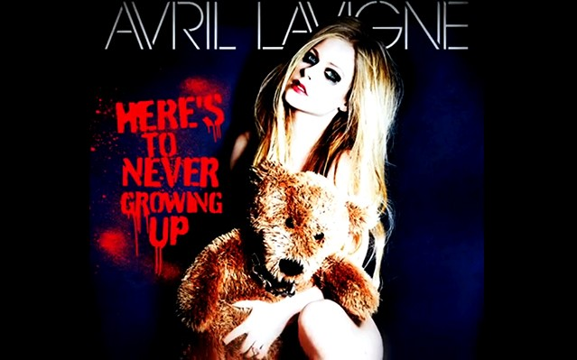 Avril Lavigne 'Here's to Never Growing Up' Fan-Made Lyric Video Premiere