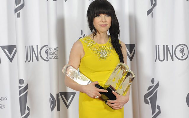 Carly Rae Jepsen Juno Awards