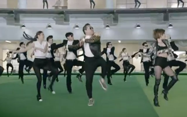 PSY gentleman music video