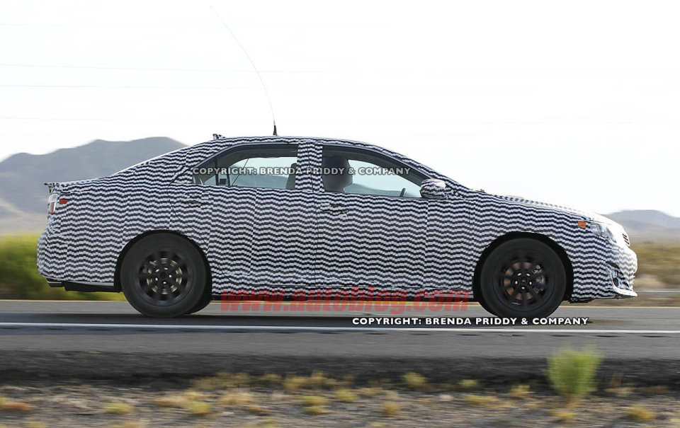 spy shots 2012 toyota camry photos
