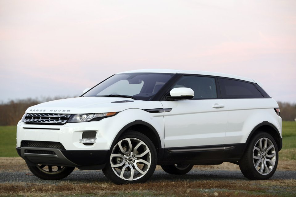 2012 land rover range rover evoque coupe review photo. Black Bedroom Furniture Sets. Home Design Ideas
