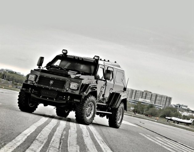 Personal Armored Vehicles The issue of personalPersonal Armored Vehicles