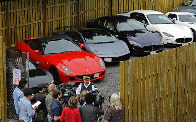 Lamborghini Gallardo Sold By B C Government In Supercar Street
