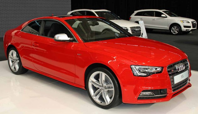 2013 Audi S5 Coupe ready to make a dent in Canadian market