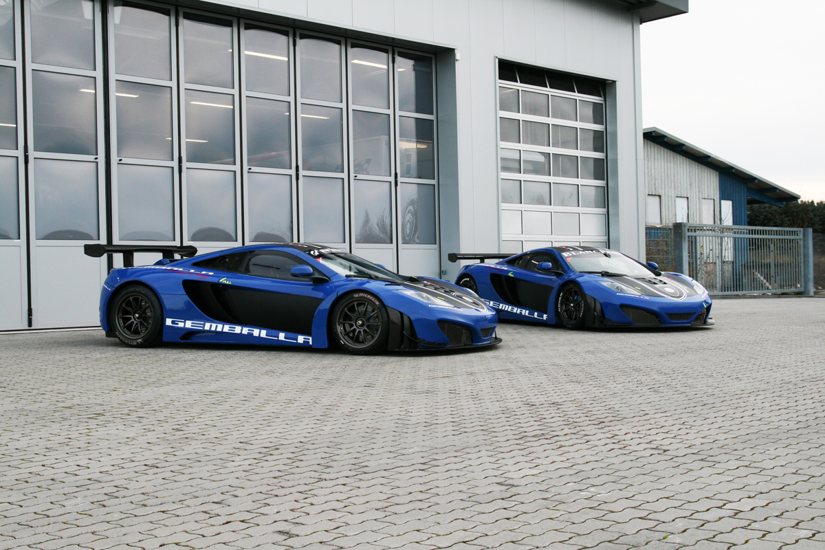 McLaren MP4-12C GT3 supercars built by Gemballa pop up for sale in ...