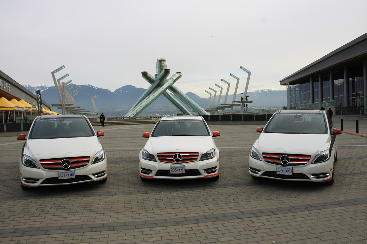 mercedes benz launches canadian driving academy for new
