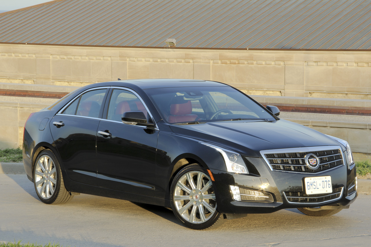 2013 Cadillac ATS Turbo 2.0 - 6 Speed Photo Gallery - Autoblog Canada