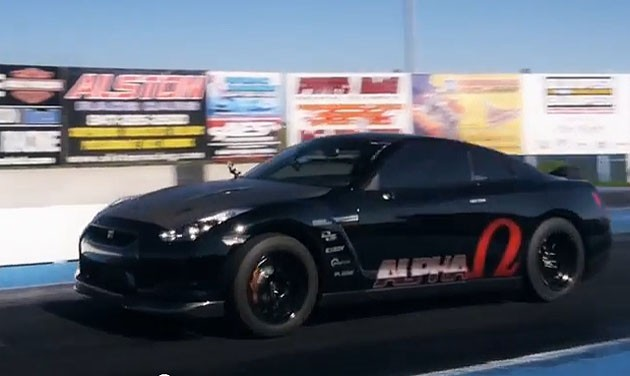 Ams Gt R Alpha Omega Speeds Into The 7 Second Quarter Mile