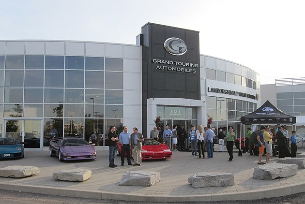 Lamborghini Uptown Toronto Grand Opening Expands Grand Touring Automobiles Brands