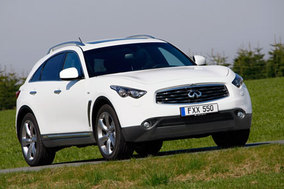 First drive: Infiniti FX and EX diesel