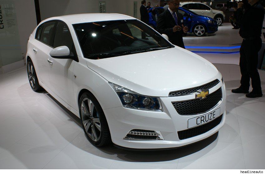 Chevrolet Cruze 5-door show car