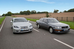 Head to head with Lexus LS400 and LS600h