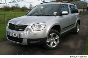 First drive: Skoda Yeti GreenLine