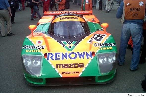 Mazda 787B at Goodwood