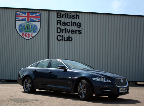 Jaguar XJ Supersport road testv